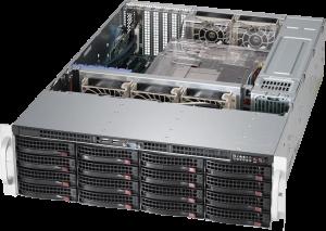 SUPERMICRO SC836E2-R800B Xeon E5-26xx